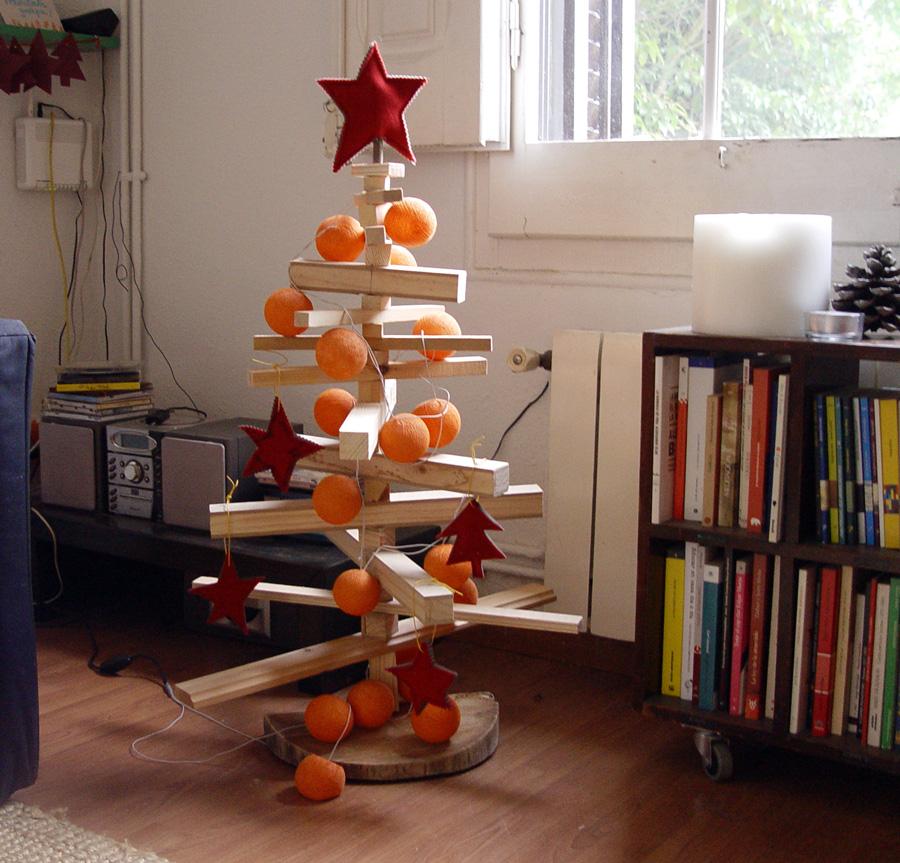 rbol de navidad casero - Arbol De Navidad Casero